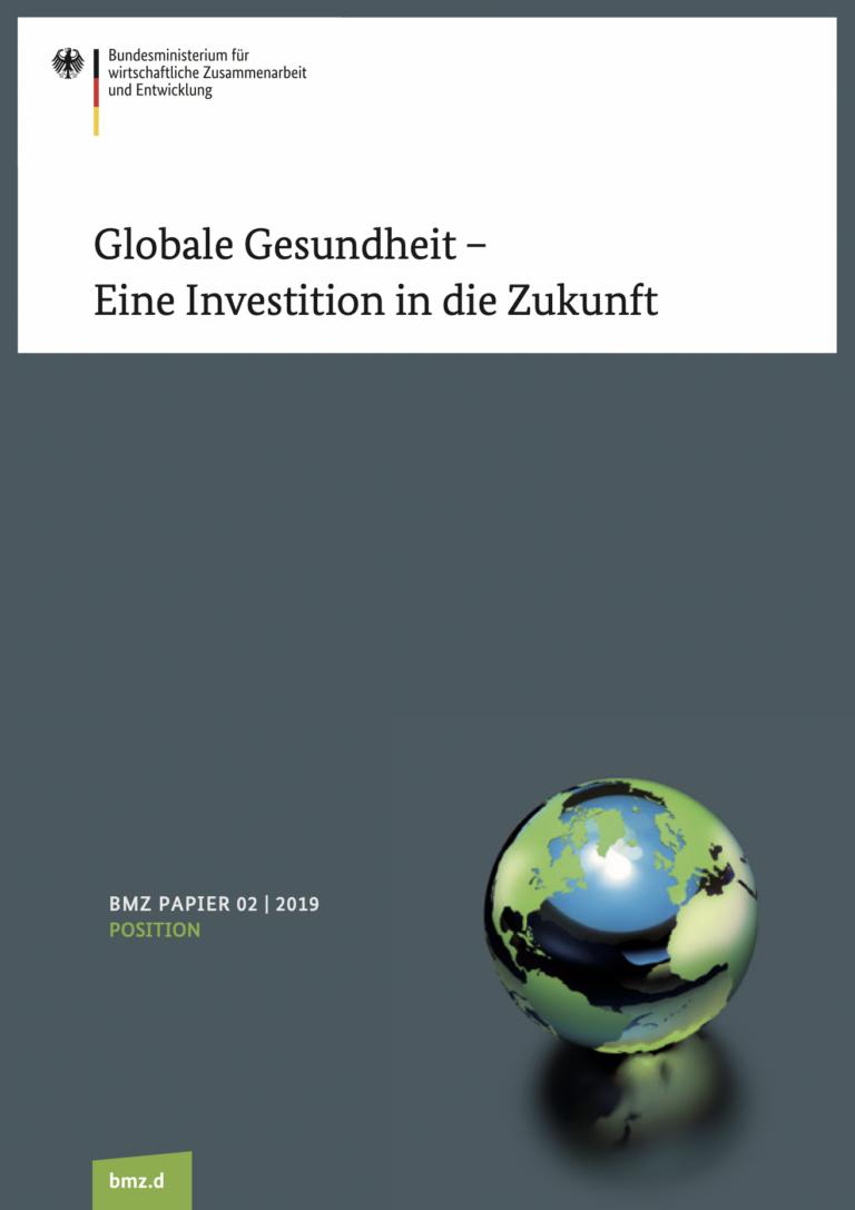 BMZ Strategie_Globale Gesundheit